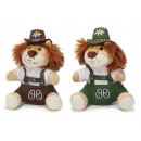 Jodel lion in plush, 18 cm