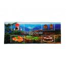 wholesale Bath & Towelling: towel Black Forest design 40 x 80 cm