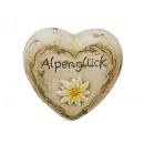 groothandel Woondecoratie: Heart gemaakt van keramiek, 10 cm