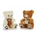 Großhandel Spielwaren: Bär aus Plüsch, 16x15x20cm