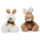 Hare of plush sitting, 30 cm