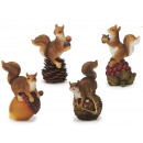 wholesale Home & Living: Squirrel made of poly, 12 cm