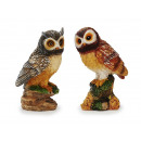wholesale Home & Living:Owl made of poly, 15 cm