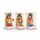 grossiste Jouets: Clown céramique dans un coffret cadeau, 8cm