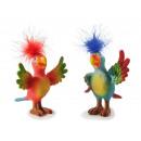 Papagei aus Poly, 13x9x11cm
