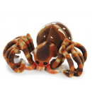 Spider of plush, 23 cm