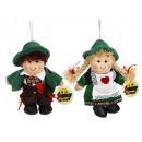 Großhandel Puppen & Plüsch: Kuschelpuppe Wanderer 16 cm