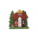 Magnet from poly black forest house 7 cm