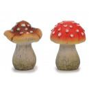 Ceramic mushroom 12 x 12 x 18 cm