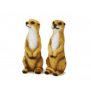 Meerkat made of poly, 12 cm