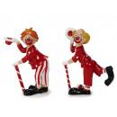 Clown in poly, 11 cm