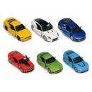grossiste Jouets: Les voitures de sport, 12 cm