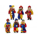 grossiste Maison et habitat: Clown de poly, pliables, 30 cm