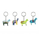 Cheval de poly à des porte-clés, 4,5 cm