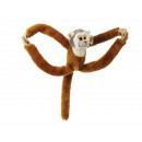 Dangling monkey made of plush, 40 cm
