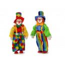 groothandel Woondecoratie: Clown gemaakt van poly-staand 33 cm