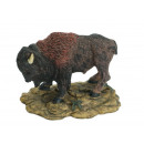 Bison made of poly, 14 x 10 x 10 cm