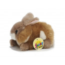 Hare of plush, 17 cm