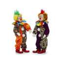 Clown made of poly, standing, 30 cm