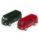 Großhandel Spielwaren:VW T1 Bus 12 cm