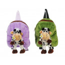 Backpack Cow made of plush, 30 cm
