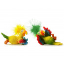 wholesale Home & Living: Parrot made of poly, 13x6x7cm