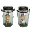 Poly gnome üvegben, 25 cm