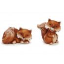 Fuchs in ceramica, 17 cm