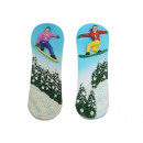 wholesale Magnets: Snowboard magnet made of poly 3x0.5x9.5cm