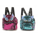 wholesale Backpacks: Backpack with sequins, 25x12x27cm