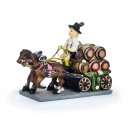 Brewery carriage made of poly, 14 cm