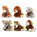 Wild animals made of plush, 20 cm