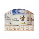 Picture frame 'Ostsee' made of porcelain,