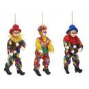 Großhandel Spielwaren: Clown aus Poly, biegsam, 55 cm