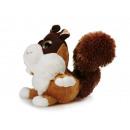 Squirrel of plush, 20 cm