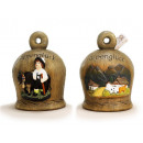 Spardose bell made of ceramic, 20 cm