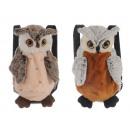 Plush backpack `owl`, 35 cm