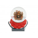 Bollen hat made of poly with glitter ball cuckoo c