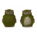 Owl made of poly, 'Moosdesign', 8 cm