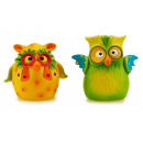 Owl made of poly, 7 cm