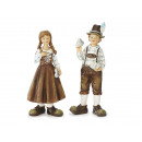 Pair of costumes made of poly, 22 cm
