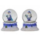 Snow globe Santa Claus 9 cm