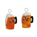 Beer jug ​​of plush, 10 cm