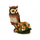 wholesale Home & Living:Owl made of poly, 23 cm