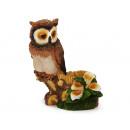 Owl made of poly, 23 cm