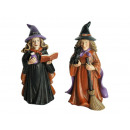 Witch made of poly, 10 cm