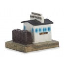 Checkpoint Charlie made of poly, 10 cm