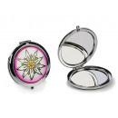wholesale Cremes: Stainless steel pocket mirror, 7 cm Ø