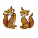 Fox made of poly, 10 cm