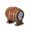 Beer barrel Bayerndesign made of poly 9 x 8 x 10 c